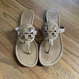 Tory burch miller sandals